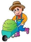 13356126-cartoon-farmer-with-small-hay-cart--vector-illustration